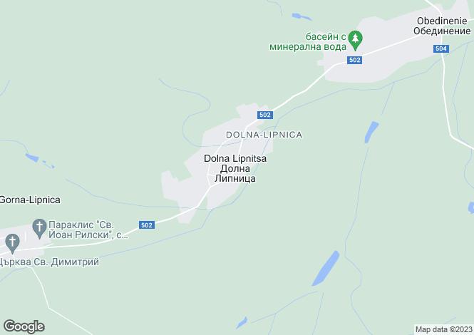 Map for Veliko Tarnovo, Pavlikeni