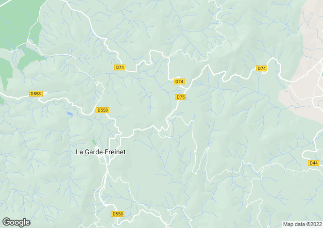 Map for Provence-Alps-Cote d`Azur, Var, La Garde-Freinet