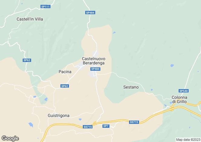 Map for Castelnuovo Berardenga, STRADA PROVINCIALE 7 DEL CHIANTINO