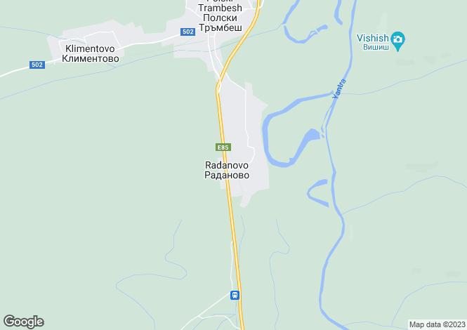 Map for Polski Trumbesh, Veliko Tarnovo