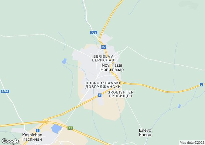 Map for Novi Pazar, Shumen