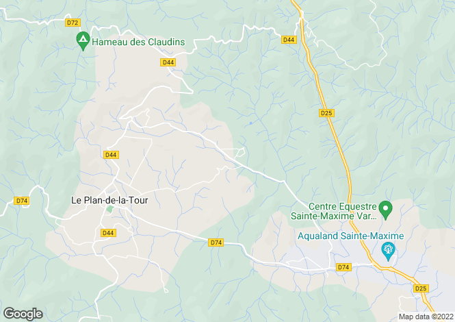 Map for Le Plan-de-la-Tour, 83120, France