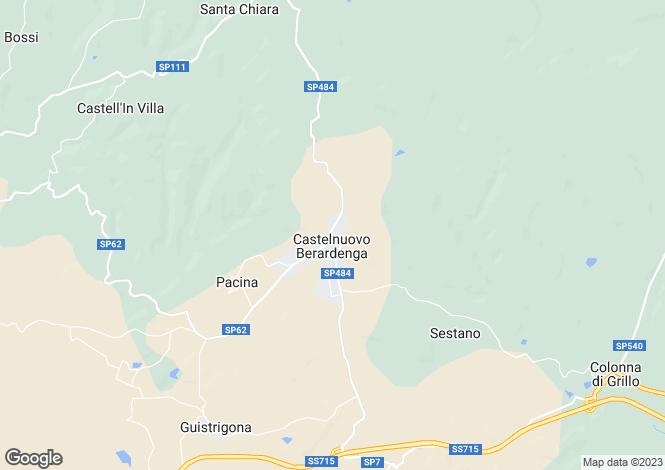 Map for Loc. Pretaccione, Castelnuovo Berardenga, Tuscany, Italy