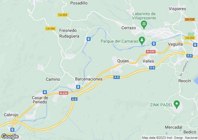 Map for Puente San Miguel, Santander, Cantabria