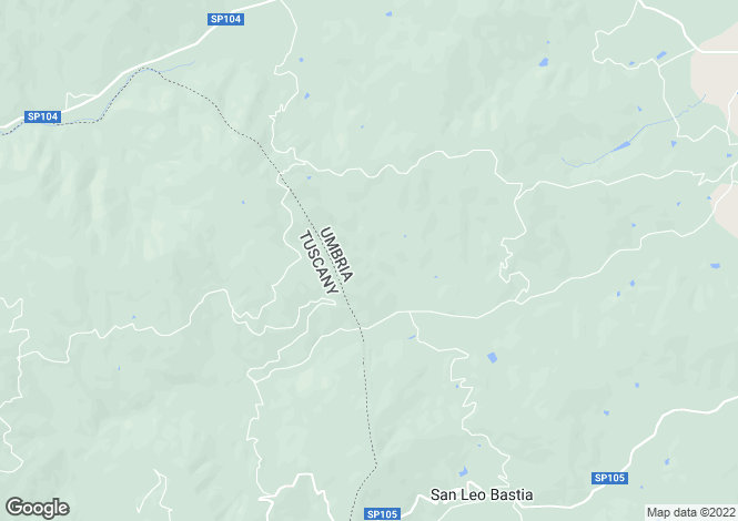 Map for Casa Corgnoleta, Near Cortona, Tuscany Umbria Border, Italy