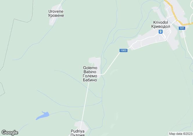 Map for Krivodol, Vratsa