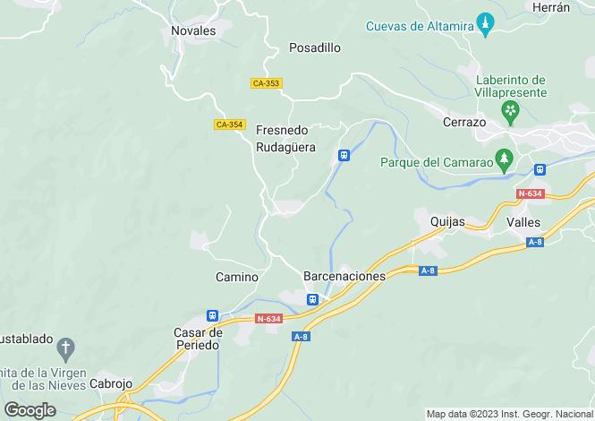 Map for Alfoz de Lloredo, Santander, Cantabria