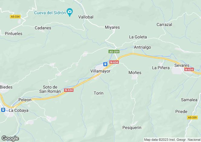Map for Villamayor, Asturias, Spain