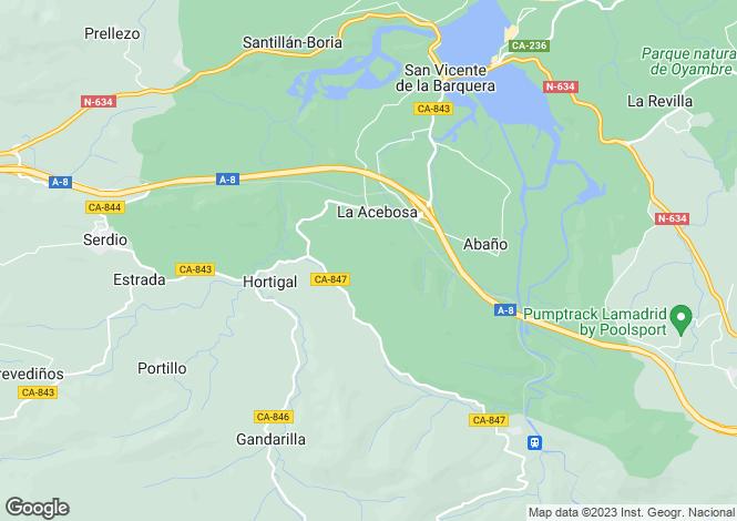 Map for Roiz, Santander, Cantabria