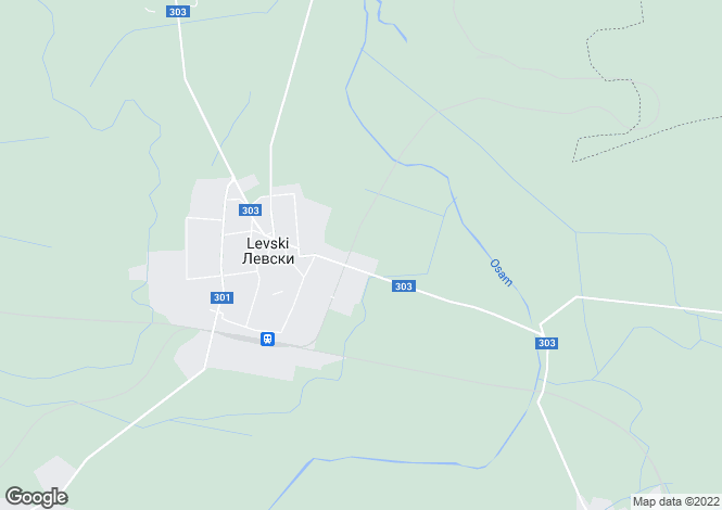 Map for Levski, Pleven