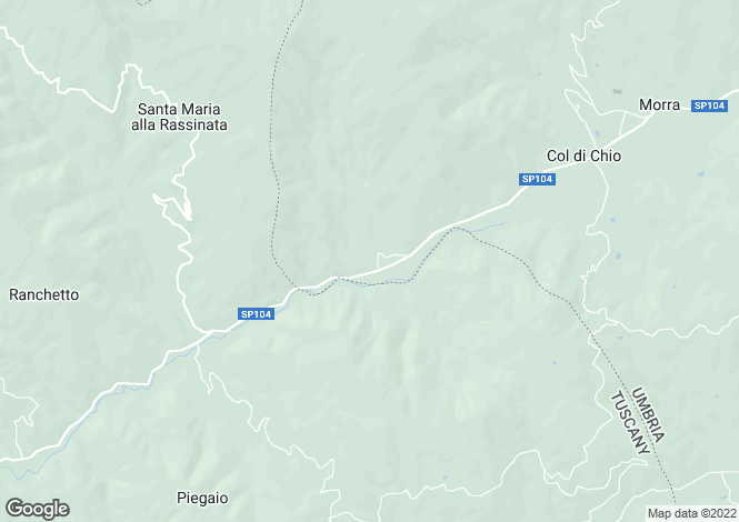 Map for Croci di Sopra, Niccone Valley, Tuscany Umbria Border, Italy