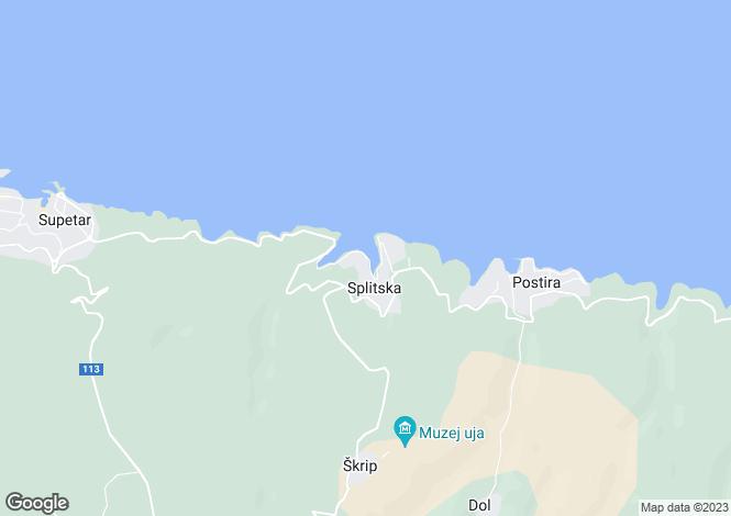 Map for Split-Dalmacija