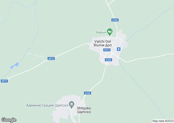 Map for Varna, Vulchidol
