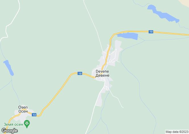 Map for Devene, Vratsa