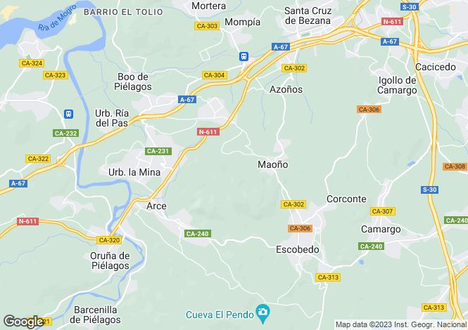 Map for Santander, Santander, Cantabria