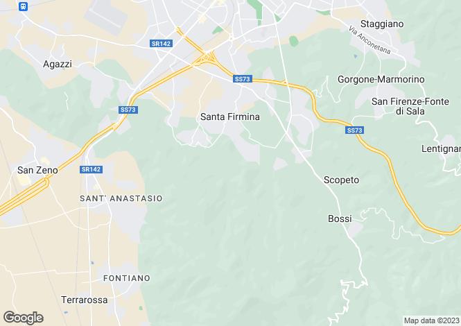 Map for Arezzo, Arezzo, Tuscany