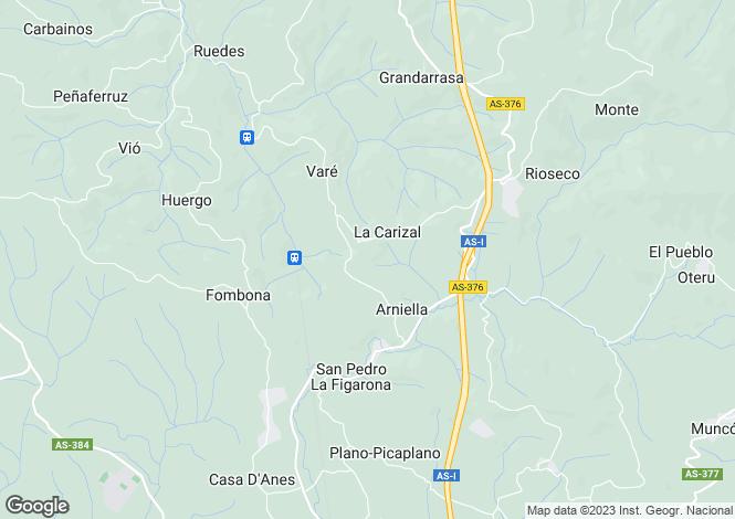 Map for Castile-La Mancha, Albacete, San Pedro