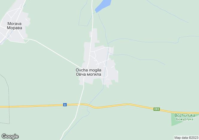 Map for Ovcha Mogila, municipality Svishtov