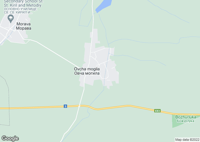 Map for Ovcha Mogila, Veliko Tarnovo