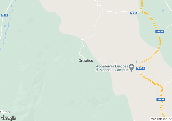Map for Orciatico, Tuscany, Italy
