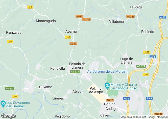 Map for Posada