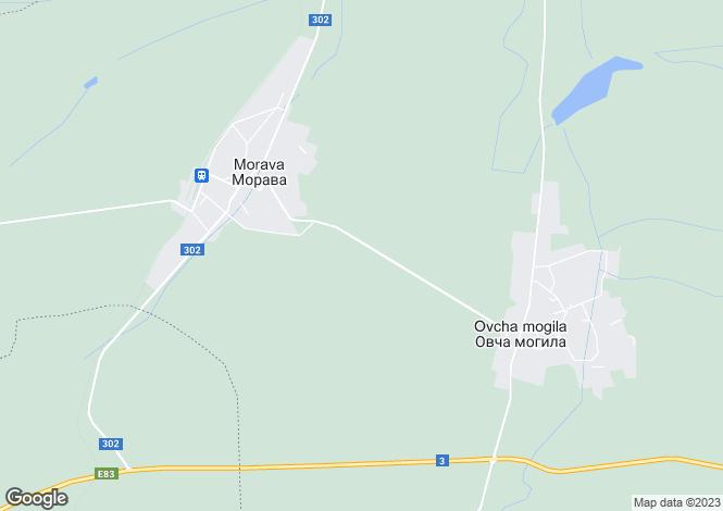 Map for Veliko Tarnovo, Morava