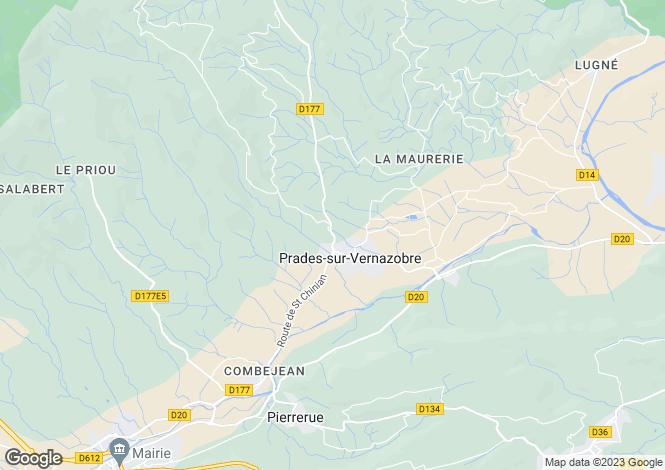 Map for , Hérault, France