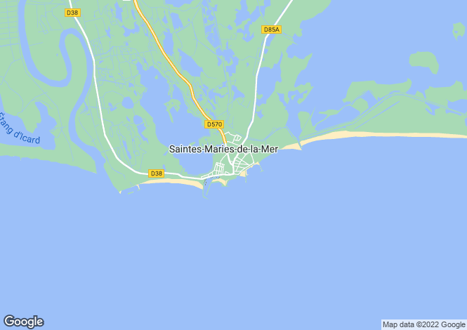 Map for Montpellier Area, Languedoc,