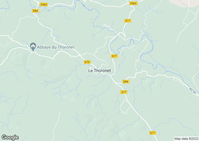 Map for Le Thoronet, Var, 83340, France
