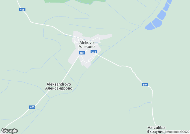 Map for Veliko Tarnovo, Alekovo