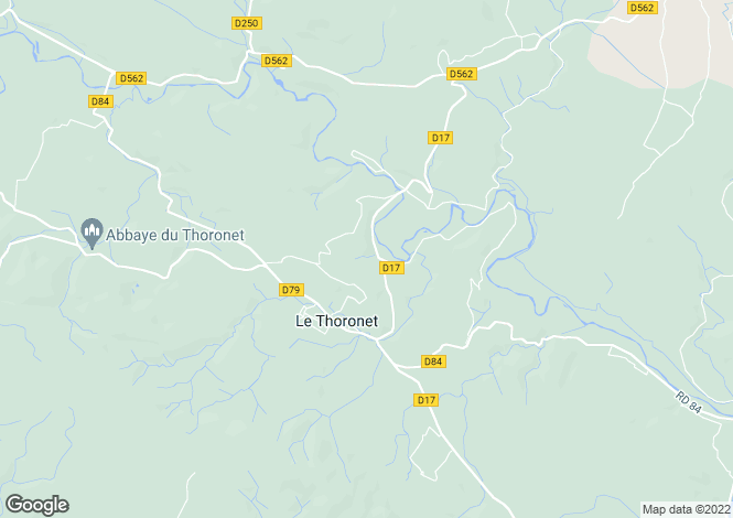 Map for le-thoronet, Var, France