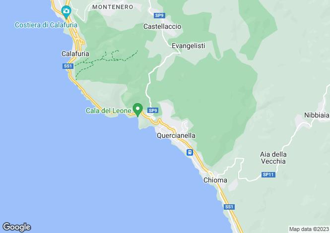 Map for Italy - Tuscany, Livorno, Livorno