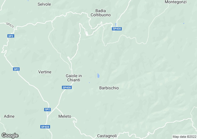 Map for Gaiole in Chianti,Italy