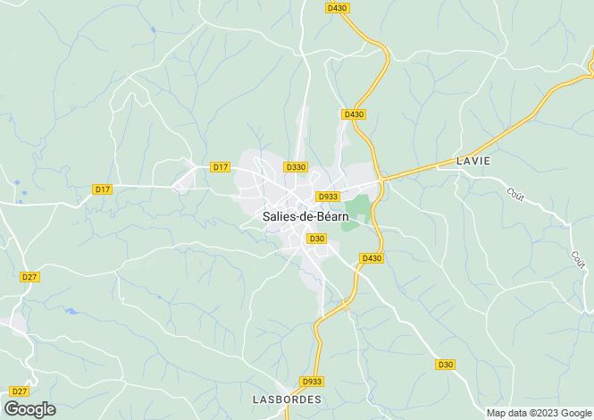 Map for Salies de Bearn, Pyrénées-Atlantiques, 64270, France