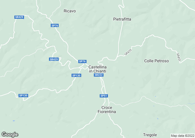 Map for Casa Mulino, Castellina In Chianti, Tuscany, Italy