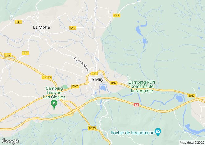Map for Le Muy, 83490, France