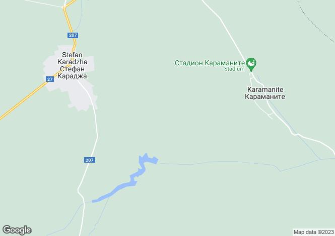 Map for Vulchidol, Varna