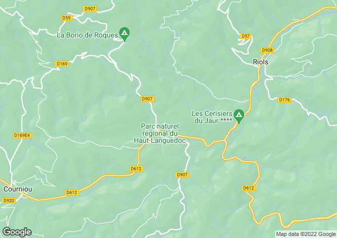 Map for , Hérault, France