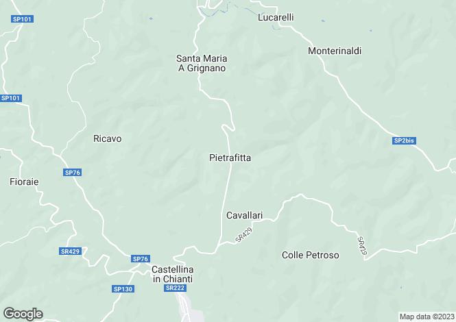 Map for Tuscany, Siena, Castellina in Chianti
