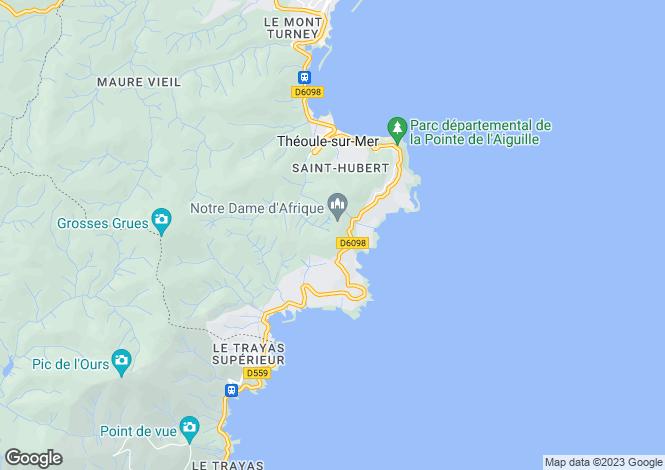 Map for Agay, Provence-Alpes-Cote dAzur, France