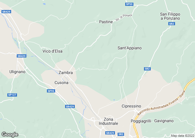 Map for Italy - Tuscany, Florence, Barberino Val D'elsa