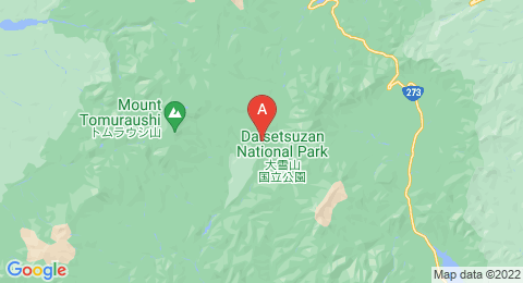 map of Mount Numanohara (Japan)