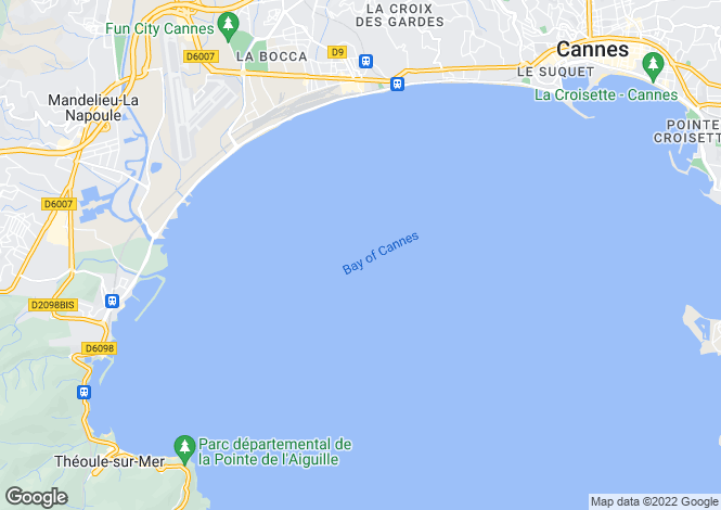 Map for Theoule-Sur-Mer, France