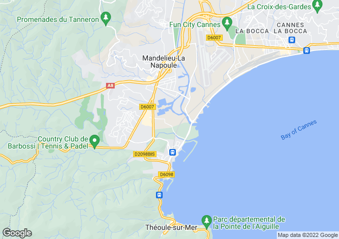 Map for mandelieu-la-napoule, Alpes-Maritimes, France