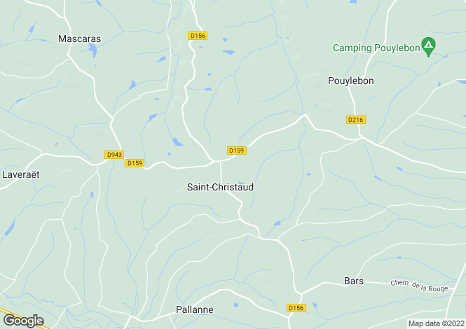 Map for st-christaud, Gers, France