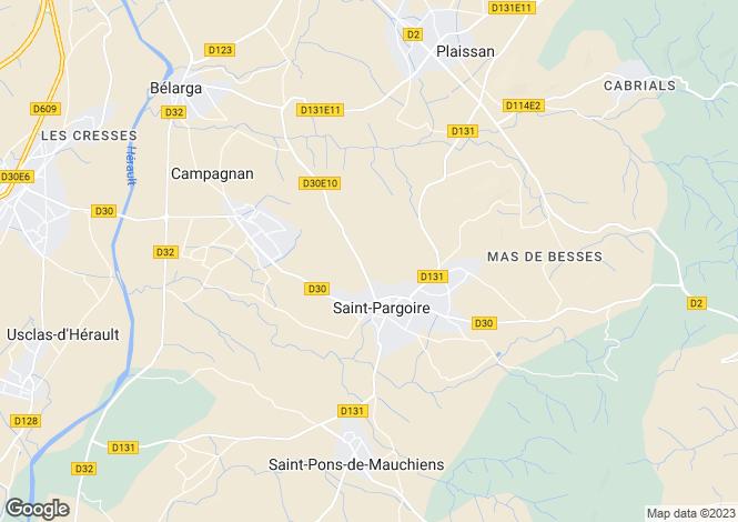 Map for Saint Pargoire, Languedoc-Roussillon, 34230, France