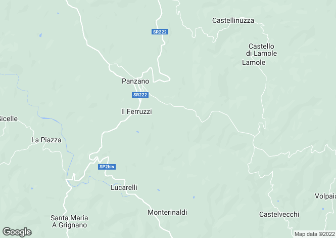Map for Greve in Chianti, Florence, Tuscany
