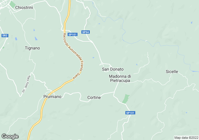 Map for Italy - Tuscany, Florence, Tavarnelle Val di Pesa