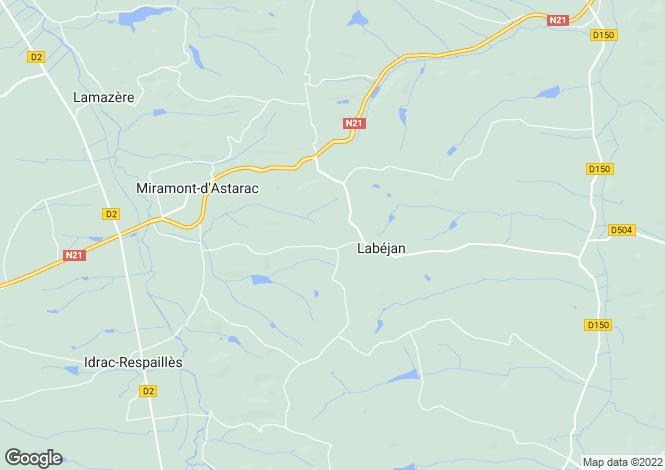 Map for labejan, Gers, France