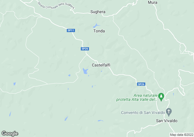 Map for Italy - Tuscany, Florence, Montaione